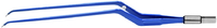 """ЕМ270-1СЕ Биполярный пинцет байонетный конусный загнутый вниз антипригарный CLEANTips, длина 230 мм, размер площадки 6 х 1 мм, """"евростандарт"""""""