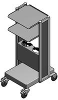 ЕН383-2 Столик аппаратный с приспособлением для крепления баллонов (поставляется в разобранном виде)