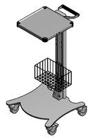 ЕН394 Столик аппаратный с набором приспособлений (корзина)