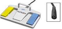 ЕР207 Педаль двухклавишная для ультразвуковых аппаратов